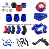 Boyaux classiques de silicones de coude de rechange de marché des accessoires de noir bleu