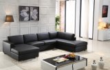 Sofá popular superventas del cuero de la sala de estar del diseño moderno
