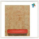 Rolo de pintura decorativo vermelho da textura