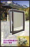刃およびセキュリティ画面で構築されるを用いるアルミニウムダブルまたはシングルのガラス開き窓の日除けのWindows