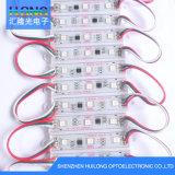 0.72W Waterproof o módulo do diodo emissor de luz do RGB da alta qualidade