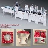 Rectángulo de torta de alta velocidad automático y 4/6 máquina de la esquina de Gluer de la carpeta del rectángulo de papel