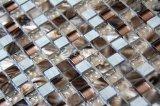 Het zoetwater Mozaïek van het Glas van het Kristal van Shel Lmarble