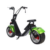 Ecorider 1200W Harley Fat Tires Scooter elétrico, scooters elétricos Citycoco