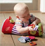 Oreillers en peluche éducatif de bébé de 0 à 3 ans avec puzzle