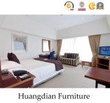 簡単な木のホテルのBedrommの家具セット(HD017)