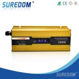 Kampierender 2000W LCD Sonnenenergie-Inverter des Auto-Hauptgeschäfts-
