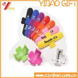 Candy Color Custom Logo Silcone Suporte para celular