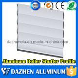 Rodillo electrónico automático / enrollable de lamas de aluminio Puerta de aluminio de extrusión de perfil