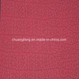 Цветастая кожа PVC PU синтетики для упаковывать (Y109-111)