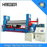 Placa da eficiência elevada que dobra pre a máquina de rolamento de aço hidráulica