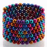 esferas neo do ímã das esferas magnéticas coloridas de 216PCS 5mm