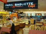 Singen/doppelte Seiten PET überzogenes Papier für die Paris-Stangenbrot-Brotverpackung