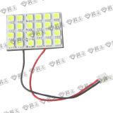 Luz superior del coche del LED/luz del sitio/de la lectura (SF-SLED-DPCB-24LED)