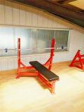 Equipamento de Ginásio Fitness comercial a força do Martelo Bancada Plana Olímpicos