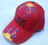 Gorra de béisbol de la manera con la insignia Bb232 de la llama
