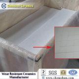 L'usure des chemises de céramique d'alumine résistants avec Point saillant