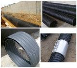 PE огромного калибра полые стенки трубопровода обмотки производственной линии