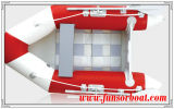 Opblaasbare roeiboot met roostervloer (FWS-M230)