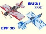 31 plano de SU-31 3D (ARF)