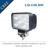 """5.7 """" 4X4 lumière tous terrains de travail du CREE DEL pour les camions 50W"""