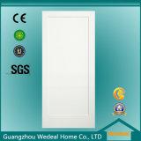 Clásico / Panel simple americana tradicional blanca con imprimación de habitaciones Puerta de madera MDF