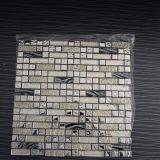 Mosaico lucido del metallo della parete della decorazione, mattonelle di vetro, mattonelle di mosaico italiane
