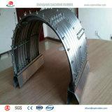 Tubo de acero corrugado popular mundial con alta calidad