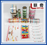 Película de transferencia de calor para etiquetas plásticas