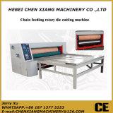 Máquina cortando giratória da alimentação Chain