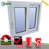 Double épreuve d'ouragan de carreau de PVC Windows coulissant pour la Chambre