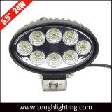 EMC는 5.5 인치 24W 트랙터를 위한 타원형 농업 LED 일 램프를 승인했다