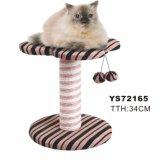 줄무늬 Cat Scratch Furniture, 2 Balls Cat Tree와 더불어, Pet Toys