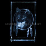 Lobo cristalino 3D