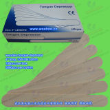 Abaisse-langue (langue d'une spatule, spatules en bois)