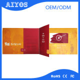Papiermaterial und Hauptdekoration-Gebrauch LCD-videogruß-Karte