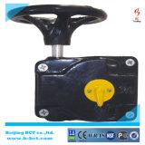 Redução de velocidade, caixa de gustras de engrenagens da válvula Cor de prata Bct-Agv-09
