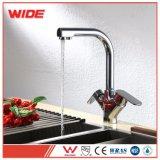 De nieuwe Dubbele Kraan van het Drinkwater van het Handvat Netto voor Keuken, het Huishouden van de Tapkraan van de Keuken van 3 Manier of de Installatie van het Hotel
