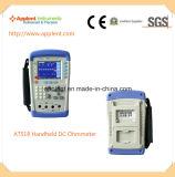 저항기 저항 낮은 옴 미터 (AT518)를 위한 DC 저항 미터