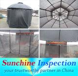 Gazebo del giardino, controllo di qualità di Pre-Shipment della tenda del Gazebo/Inspection Company di terzi