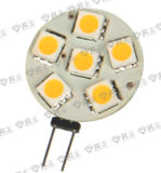 lámpara 1.2W (G4 LS) de 6PCS SMD LED