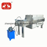 Máquina automática hidráulica da imprensa de filtro