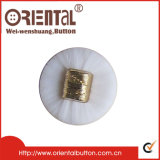 Due Pieces Combined Button in ABS e in Nylon Material (C-354PG/)