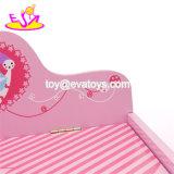 Neue Entwurfs-Kind-Karikatur-hölzerner Spielzeug-Kasten mit Kappe W08c008