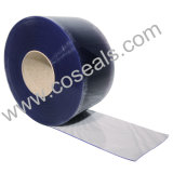 Smooth Plain Clear PVC cortina para o quarto frio