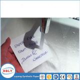 Mécanique publiante d'instruction aménageant le papier en parc de synthétique de pp