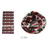 模倣されたカシミヤ織の首の管のスカーフ