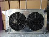 Cubierta del ventilador del radiador y ventilador eléctrico