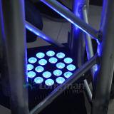 단계를 위한 18PCS 10W RGBW DMX LED 동위 램프