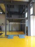 Цокольный этаж стоянки четыре должности Автомобильный подъемник